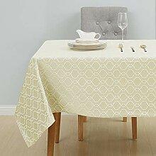 Deconovo Tischdecke Lotuseffekt Tischtücher