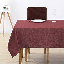 Deconovo Tischdecke Tischwäsche Lotuseffekt