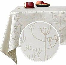 Deconovo Tischdecke Wasserabweisend Tischwäsche