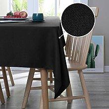 Deconovo Tischtuch Wasserabweisend Tischwäsche