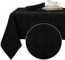 Deconovo Tischtücher Tischdecke Lotuseffekt