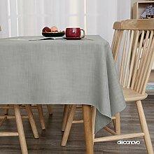 Deconovo Tischwäsche Lotuseffekt Tischtuch