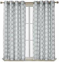 Deconovo Vorhang Gardinen Ösenvorhang 175x140 cm