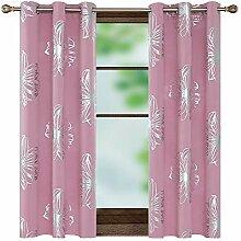 Deconovo Wärmeisolierter Fenster-Vorhang mit