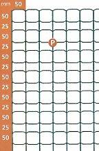 DECOPLAX Gitterzaun ,,DECOPLAX EVOLUZIONE' Gruen 50x50 2030 Mm 25 M