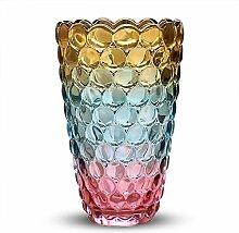 DECOR Europäische Bunt Vase für Wasser Pflanzen