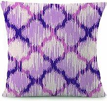 Decor Quadratisch Muster Werfen Kissen Fall 18von 45,7cm
