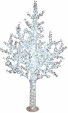 Decor Service LED Lichterbaum mit Blüten, ca.