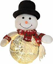 Decor Service Weihnachtskugel Schneemann mit