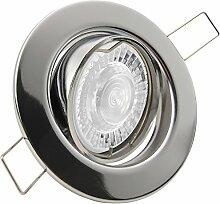 DECORA LED 8er Set 7,5W dimmbar 230V GU10 Decken