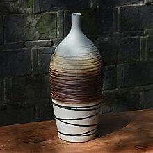 Decorationbd Jingdezhen Ceramic Europäischen drei Stück Blumenvase Modern Fashion Dekoration Basteln, Die Trommel einer Vase