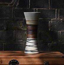 Decorationbd Jingdezhen Ceramic Europäischen drei Stück Blumenvase Modern Fashion Dekoration basteln, eine Trompete, eine Vase Vase