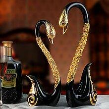 Decorationbd Swan Ornamente Europäischen