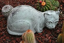 Decorative Katze,Aluguss,27cm