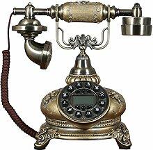 Decoresd Heimtextilien Schmuck Handwerk Europäische antike Telefon Zimmer Kreative Dekorationen Retro Schlafzimmer Indoor Hochzeit Hochzeit Home Telefon Qing Gu Smart Blau