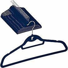 DecorRack Samt-Kleiderbügel, rutschfest, für den