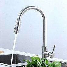 Decorry 304 Edelstahl-Küchenarmatur Mit Warmen