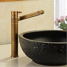 Decorry Antik Kupfer Waschbecken mit warmen und