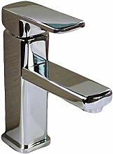 Decorry Einfacher Chrom Waschbecken Wasserhahn Mit