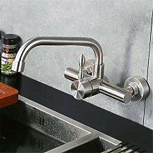 Decorry In-Wand-Küchenarmatur Mit Warmen Und