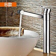 Decorry Waschbecken Aufsatzbecken Wasserhahn Mit