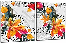 decorwelt | Ceranfeldabdeckung 2x40x52 cm 2 Teilig