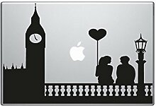 DecoSoon Aufkleber MacBook Drehmoment London