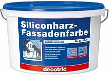 Decotric Silikonharz-Fassadenfarbe 5l