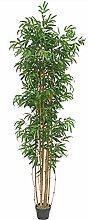 Decovego Bambus Groß Kunstbaum Kunstpflanze