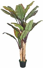 Decovego Bananenbaum Bananenstaude Kunstpflanze