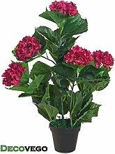 Decovego Künstliche Hortensie Hydrangeaceae
