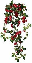 Decovego Rose Hängend Künstliche Pflanze