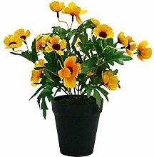 Decovego Sonnenhut Echinacea Künstliche Pflanze