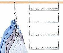 DECOZY Magic Kleiderbügel Smart Closet Saver 6er