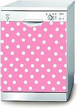 Decusto–Pink Dots Aufkleber für