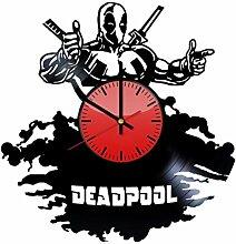 Dedpool Marvel Comics Wanduhr aus Vinyl –
