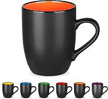 DeeCoo Kaffeebecher-Set aus Porzellan, matt,
