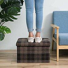 DEED Home Stuhl Hocker Klappstuhl-Aufbewahrung