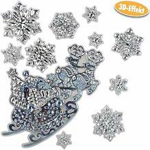deeel basics 105348 Heim Dekosticker Weihnachten