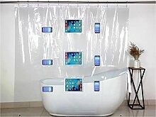 DEEP DWELL Shower Connect Duschvorhang für