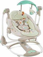 Defect Baby-Schaukelstuhl, Kind schläft Artefakt
