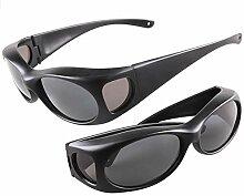 Defect Fashion Sonnenbrille polarisiert Mode