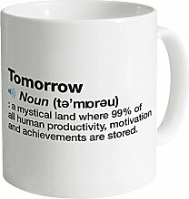 Definition of Tomorrow Tasse