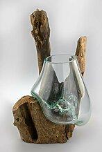 Deggelbam Mundgeblasenes Glas auf