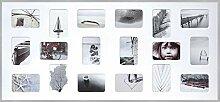 DEHA Aluminium Bilderrahmen Tribeca Collage,