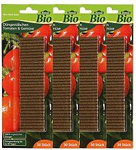 Dehner Bio Düngestäbchen für Tomaten, 4 x 30