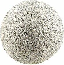 Dehner Dekokugel, Ø 13 cm, Granit, grau/marmorier