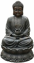 Dehner Gartenbrunnen Buddha mit LED Beleuchtung,