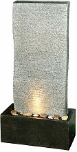 Dehner Gartenbrunnen Cliff mit LED Beleuchtung,