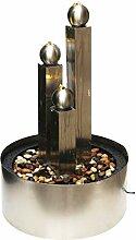 Dehner Gartenbrunnen Colona mit LED Beleuchtung,